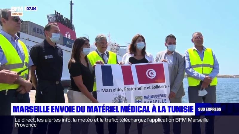 Marseille: la ville envoie du matériel médical à la Tunisie