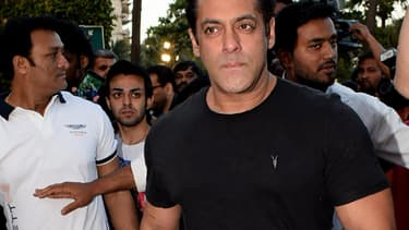 L'acteur Salman Kahn, star de Bolywood.