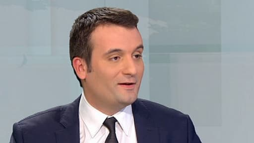 Le n°2 du FN, Florian Philippot, est confiant pour le score de son parti aux municipales l'an prochain (photo d'illustration).