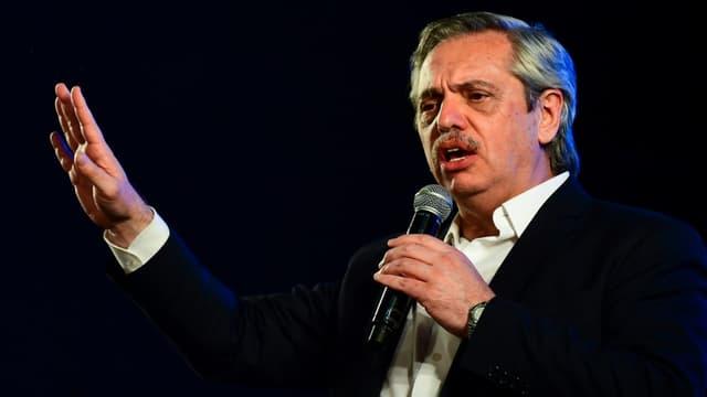 Alberto Fernandez, élu président de l'Argentine, le 27 octobre 2019