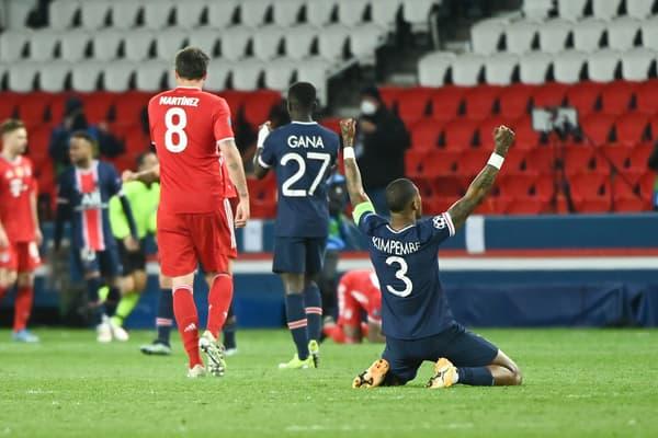 Presnel Kimpembe à la fin du match face au Bayern