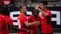 Les joueurs du Stade Rennais, le 19 août 2021