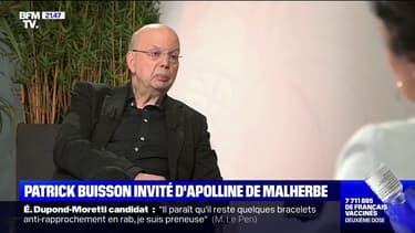 """Présidentielle: """"pour la première fois dans l'histoire de la Ve République, le candidat Les Républicains ne sera sans doute pas en situation d'être qualifié pour le second tour"""", prédit Patrick Buisson"""