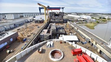 Le groupe italien Fincantieri veut racheter les chantiers navals de Saint-Nazaire.