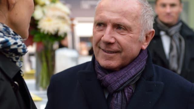 François Pinault, le propriétaire du Stade Rennais