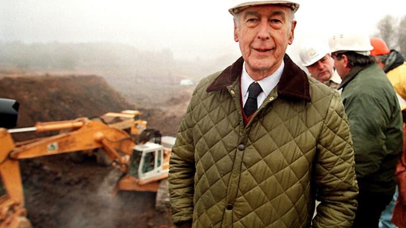Giscard, l'ancien président devenu bâtisseur auvergnat