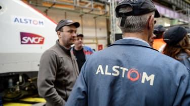L'intersyndicale s'oppose à la fusion d'Alstom et Siemens