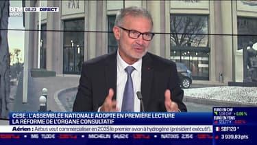 Patrick Bernasconi (CESE) : L'Assemblée nationale adopte en première lecture la réforme du CESE  - 21/09