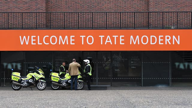 La Tate Modern à Londres.