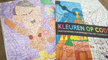 Un livre de coloriage pour enfants néerlandais proposait un dessin d'Adolf Hitler