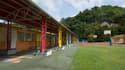 Une école à Pointe-à-Pitre, en septembre 2017 (PHOTO D'ILLUSTRATION)