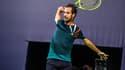 Richard Gasquet monte au filet contre l'ATP