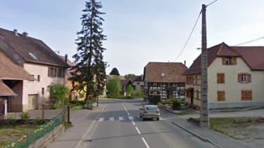 Les faits se sont produits dans le village de Moernach, dans le Haut-Rhin, près de la frontière suisse.