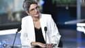 Sandrine Rousseau sur un plateau de télévision le 22 septembre.