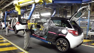 La DS3, fabriquée dans l'usine de Poissy, fait partie des modèles dont la production va augmenter.