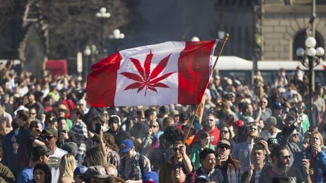 Le Canada a légalisé la consommation de cannabis en octobre 2018.