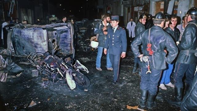 L'attentat de la rue Copernic a fait quatre morts et 46 blessés.