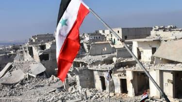 Une vue générale montrant des bâtiments détruits à Alep, le 12 décembre 2016. (Photo d'illustration) - George Ourfalian - AFP