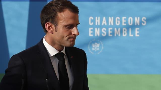 Le président de la République Emmanuel Macron, à l'Elysée le 27 novembre 2018. (Photo d'illustration)