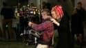 Lana Wachowski sur le tournage de la série Sense 8 à Paris en octobre 2017.