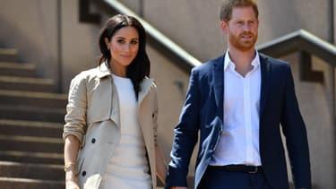 Meghan et le prince Harry, en octobre 2018 à Sydney