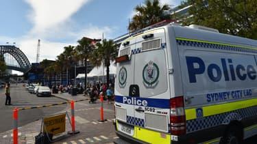 Un van de la police à Sydney, en Australie, le 24 septembre 2014 (illustration).