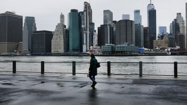 La ville de New-York est particulièrement touchée par l'épidémie.
