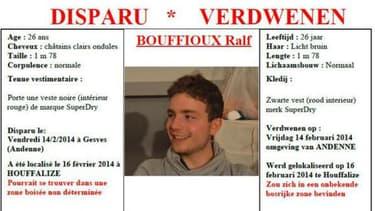 Ralf a disparu pendant plus d'un an avant de rentrer chez ses parents en Belgique.