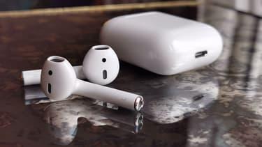 Les AirPods (2019) d'Apple