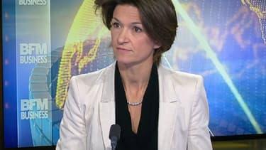 Isabelle Kocher, la PDG d'Engie sur le plateau de BFM Business.