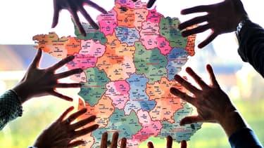 La carte de France va se trouver chambouler par la réforme territoriale