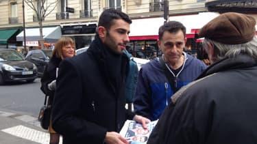 Bruno Clavet avec son directeur de campagne Jean-François Belmondo