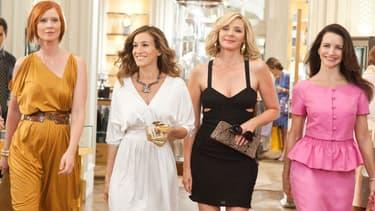 """Sarah Jessica Parker, Kim Cattrall, Cynthia Nixon et Kristin Davis ne reviendront pas pour un troisième volet de """"Sex in The City"""" au cinéma."""