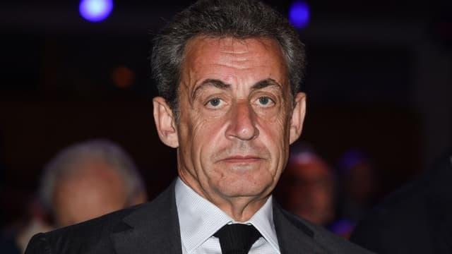 Nicolas Sarkozy en avril 2018