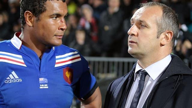 Thierry Dusautoir et Philippe Sain-André