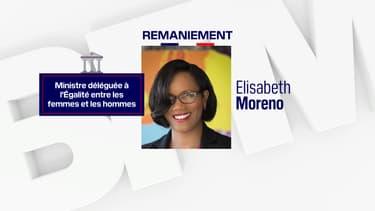 La nouvelle ministre de l'Égalité entre les femmes et les hommes, Elisabeth Moreno.