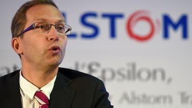 Henri Poupart-Lafarge prend les rênes d'Alstom.