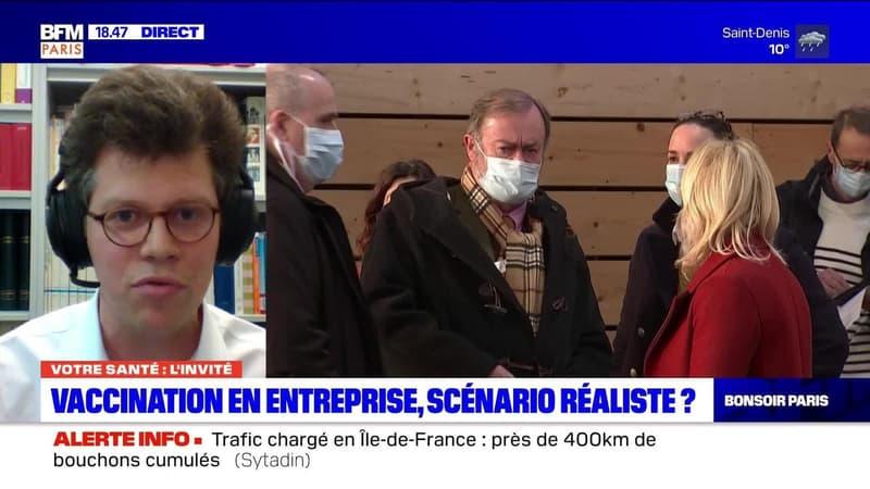 Votre Santé Paris: Vaccination en entreprise, scénario réaliste ? - 21/01