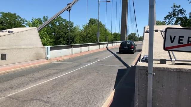 Le pont de Vernaison en sens unique à partir de ce mercredi