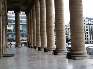 Vue du Palais Brongniart, où se tenait la Bourse de Paris
