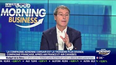 """La compagnie Corsair va toucher un plan d'aide de 300 millions d'euros : """"Aucune compagnie aérienne ne peut traverser cette crise sans aide de l'État"""" selon Pascal de Izaguirre, PDG de Corsair"""