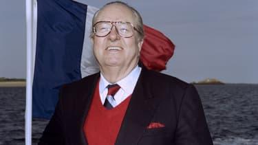 Jean-Marie Le Pen en 1995.