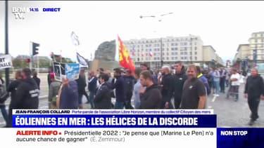 Éoliennes en mer: les pêcheurs du Havre et de Cherbourg en colère
