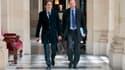 Jérôme Guedj et Jean-Marc Germain, deux des députés frondeurs du PS.