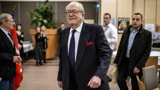 Jean-Marie Le Pen est visé par une enquête préliminaire concernant son patrimoine, selon Mediapart.