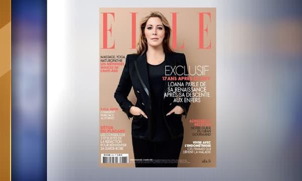 """Loana en couverture du magazine """"Elle"""""""