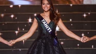 Le sacre de Miss Tahiti, élue Miss France 2019, samedi 15 décembre.