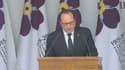 François Hollande au cours des commémorations du centenaire du génocide arménien à Erevan.