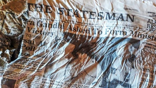 Des journaux de 1966, possibles vestiges du crash d'un avion Air India, retrouvés sur le Mont-Blanc.