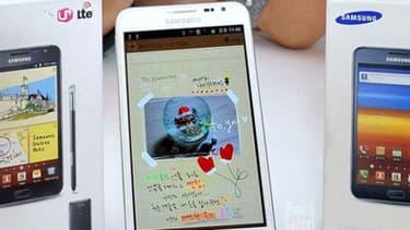 Samsung a vendu 10 millions de la première version du Galaxy Note.